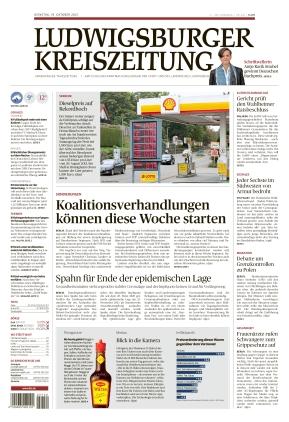 Ludwigsburger Kreiszeitung STR (19.10.2021)
