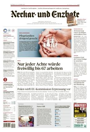 Ludwigsburger Kreiszeitung NEB (20.10.2021)