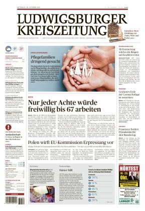 Ludwigsburger Kreiszeitung STR (20.10.2021)