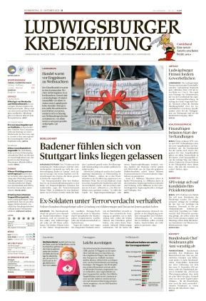 Ludwigsburger Kreiszeitung BOT (21.10.2021)