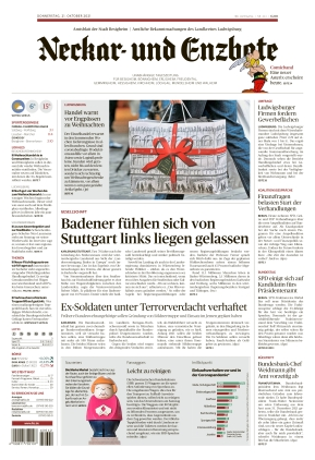 Ludwigsburger Kreiszeitung NEB (21.10.2021)