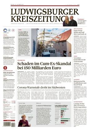 Ludwigsburger Kreiszeitung STR (22.10.2021)