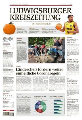 Ludwigsburger Kreiszeitung LKZ (23.10.2021)