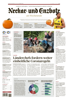 Ludwigsburger Kreiszeitung NEB (23.10.2021)