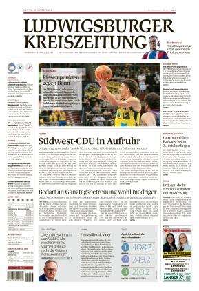 Ludwigsburger Kreiszeitung LKZ (25.10.2021)