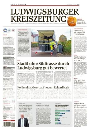 Ludwigsburger Kreiszeitung BOT (26.10.2021)