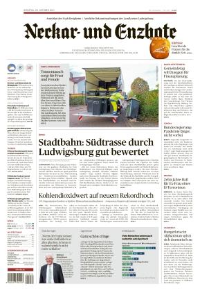 Ludwigsburger Kreiszeitung NEB (26.10.2021)