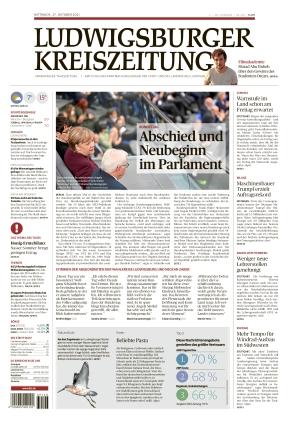 Ludwigsburger Kreiszeitung LKZ (27.10.2021)