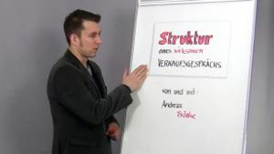 Das Verkaufsgespräch wirksam strukturieren