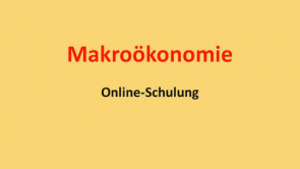 Makroökonomie D: Offene Volkswirtschaft