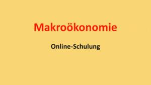 Makroökonomie E: Rolle von Erwartungen