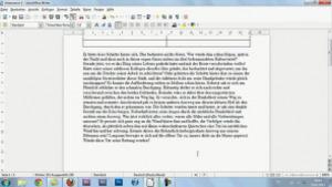 Textverarbeitung mit LibreOffice Writer