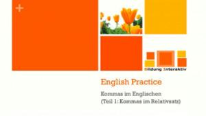 Komma im Englischen