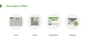 Neuheiten in Microsoft Office 2016 und Office 365