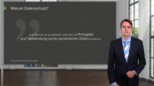 Datenschutz (aus Compliance Basis-Training)