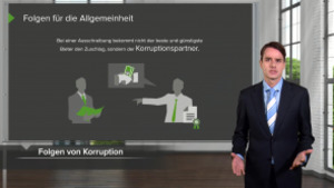 Korruptionsprävention (aus Compliance Basis-Training)