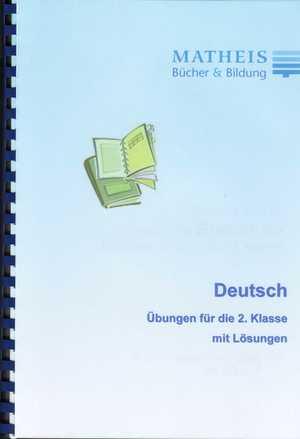 Grundschule Übungsbuch Deutsch Klasse 2