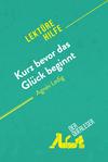 Kurz bevor das Glück beginnt von Agnès Ledig (Lektürehilfe)