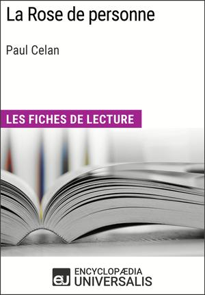 La Rose de personne de Paul Celan