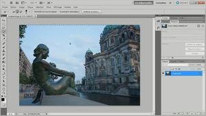 Créer un compositing avec Photoshop CS5 : Atlantis, la statue enchantée