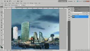 Créer un compositing avec Photoshop CS5 : Défiez le temps