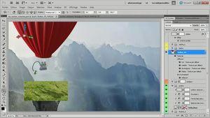 Créer un compositing avec Photoshop CS5 : Vaches volantes