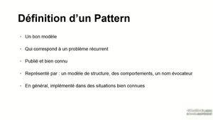 Découvrir les design patterns
