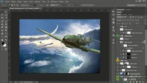 Créer un compositing avec Photoshop CC : Attaque aérienne