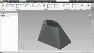 Autodesk Inventor 2012: Blechteile