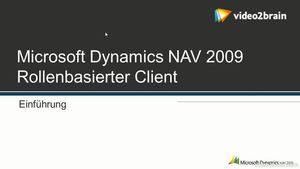 Dynamics NAV 2009: Rollenbasierter Client