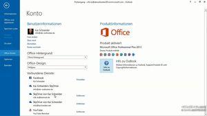 Outlook 2013: Neue Funktionen