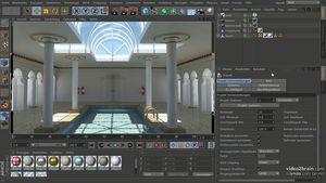 Cinema 4D: Rendering mit V-Ray 1.8