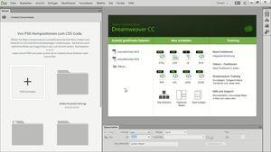 Dreamweaver CC 2014: Neue Funktionen