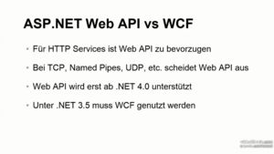 ASP.NET Web API Grundkurs