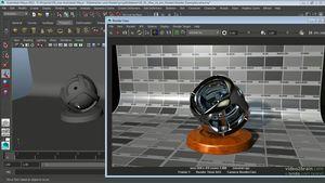 Autodesk Maya: Materialien und Shader