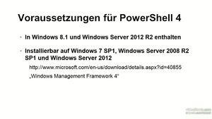 Windows PowerShell Grundkurs