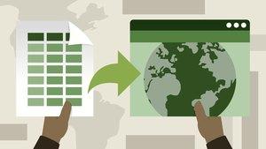 Excel: Kartendiagramme und Visualisierung von Geodaten (Office 365/Excel 2019)