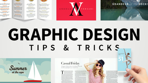 Graphic Design Tips & Tricks Weekly
