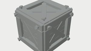 Creating a Stylized Wooden Crate Game Asset