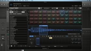 BATTERY: Drum Programming and Sampling