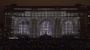 Projection Mapping Union Station's History