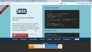 One-Page-Webseiten mit Bootstrap, LESS und Sass