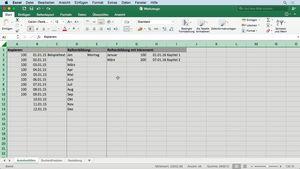 Excel 2016 für Mac Grundkurs