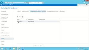 Microsoft Exchange Server 2016 Grundkurs: Hochverfügbarkeit
