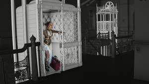 Bradbury Building visualisieren mit Cinema 4D: Aufzug modellieren