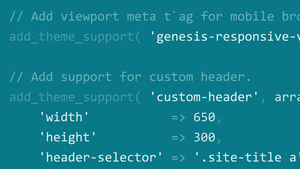 WordPress Themes: Customizing Themes with Genesis