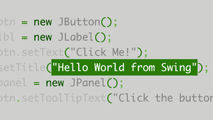 Learn Java with Swing