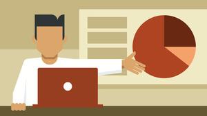 Geschäftliche Präsentationen erstellen und halten