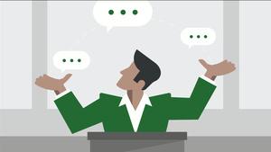 Spannung erzeugen in Vorträgen und Präsentationen