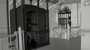 Bradbury Building visualisieren mit Cinema 4D: Raum modellieren